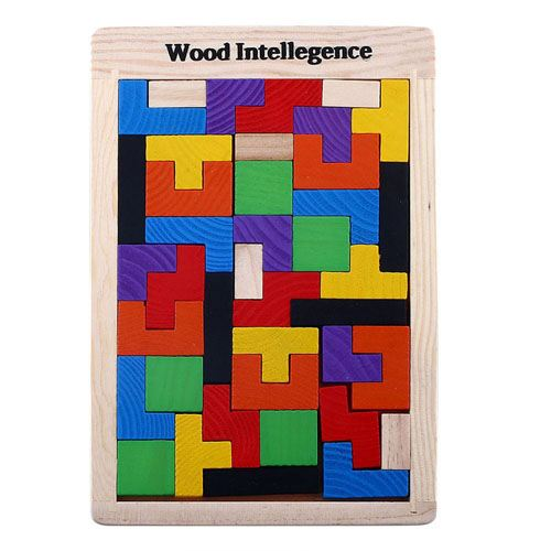 Tangram Wood Brain Teaser Puzzle