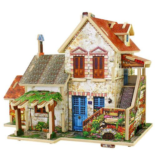 Three Dimensional Assembling Diy Diy Wooden Puzzle Image 4