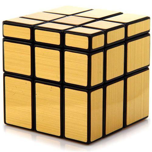 Golden Mirror Magic Cube Puzzle for Children