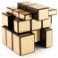 Golden Mirror Magic Cube Puzzle for Children Image 1