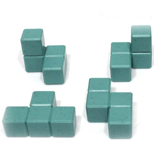 IQ Logic 3D Aura Soma Cube Image 1