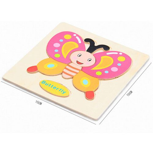 Casual Styles Wooden Kids Animal Puzzles Image 3