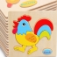 Casual Styles Wooden Kids Animal Puzzles Image 4