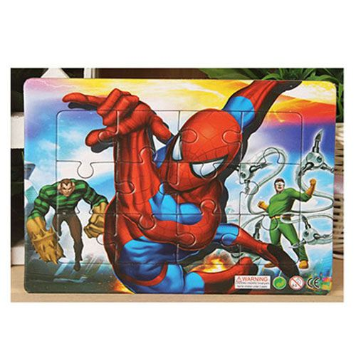 Cartoon Mickey Minnie 24 Style Wooden Puzzles Image 3