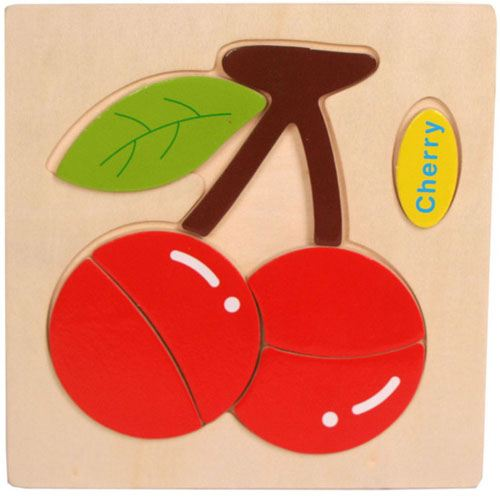 Wooden Colorful Animals Logical Educational Toys Image 2