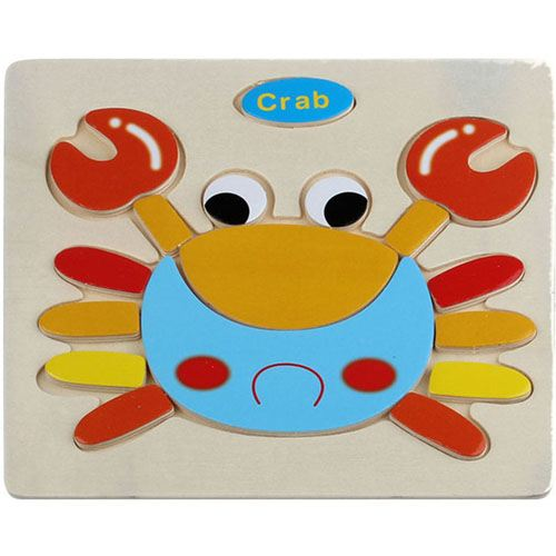 Wooden Colorful Animals Logical Educational Toys Image 6