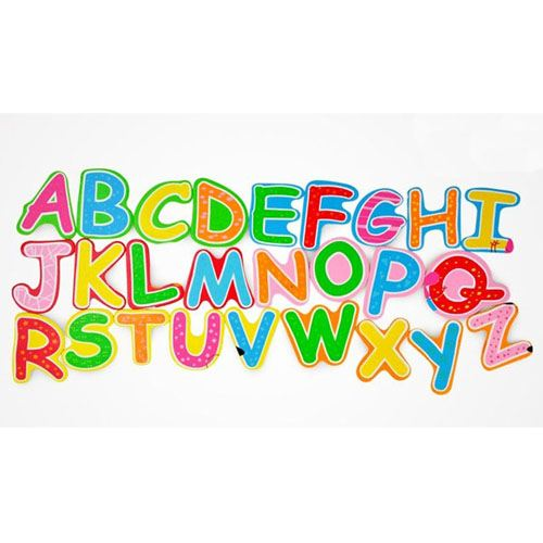 Wooden 3D Early Education Alphabet Puzzle Image 2