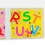 Wooden 3D Early Education Alphabet Puzzle Image 5