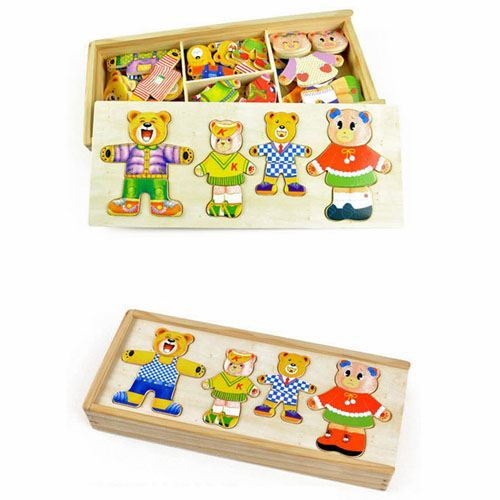 Models and Building Wooden Cute Toys Image 1