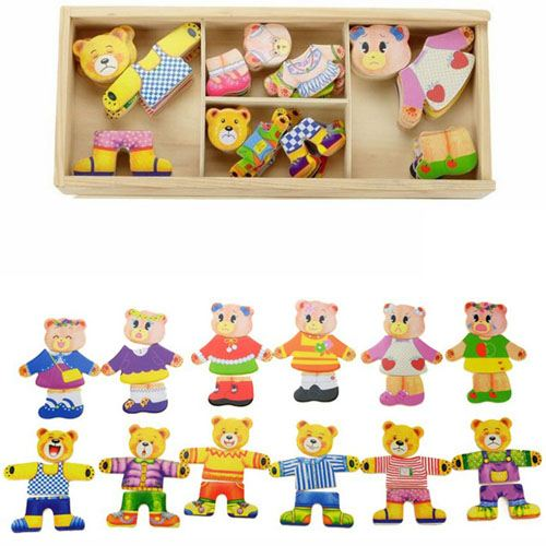 Models and Building Wooden Cute Toys Image 2