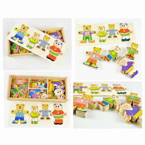 Models and Building Wooden Cute Toys Image 4