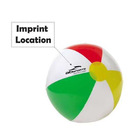 Inflatable Baby Water Beach Ball Imprint Image