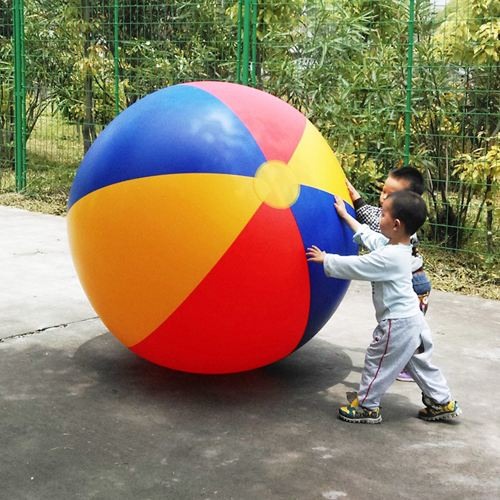 Large Inflatable Outdoor Sand Beach Ball Image 4