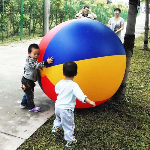 Large Inflatable Outdoor Sand Beach Ball Image 6