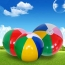 Inflatable Colorful Children Beach Ball Image 1