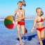 Inflatable Colorful Children Beach Ball Image 4
