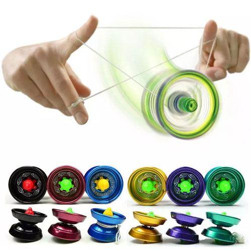 Aluminum Ball Bearing String YoYo Toy