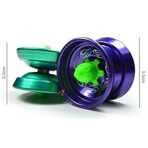 Aluminum Ball Bearing String YoYo Toy Image 2
