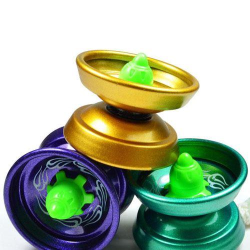 Aluminum Ball Bearing String YoYo Toy Image 4