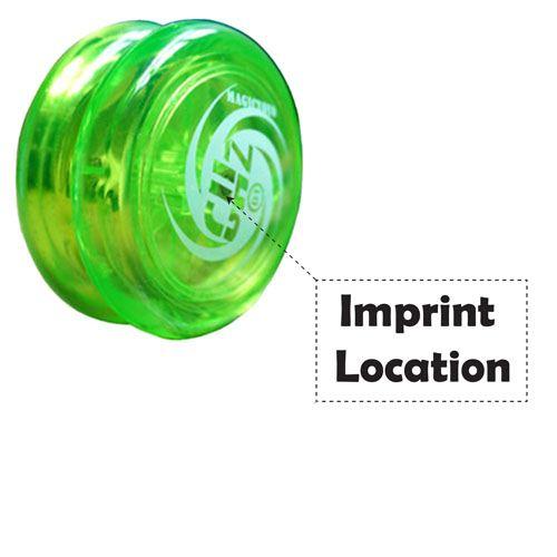 Responsive Loop Yoyo with Yoyo Glove Imprint Image