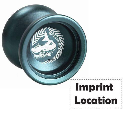 Magic Aluminum String Trick Yo-Yo Imprint Image