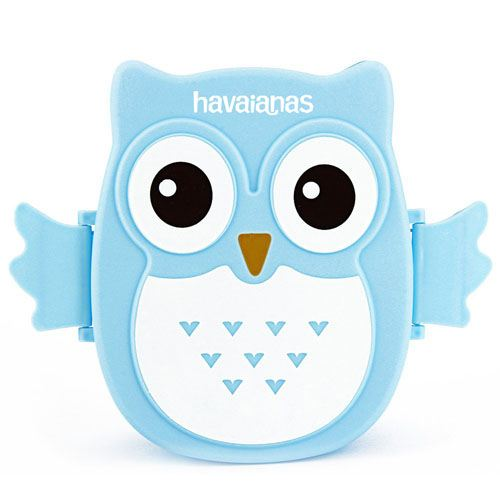 Portable Cartoon Owl Lunch Box Image 1