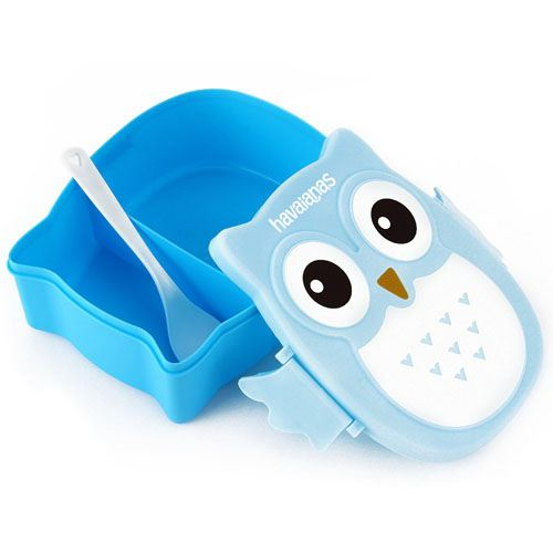 Portable Cartoon Owl Lunch Box Image 2