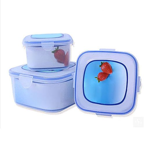 Bento Transparent Food Container Image 3