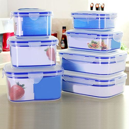 Bento Transparent Food Container Image 4