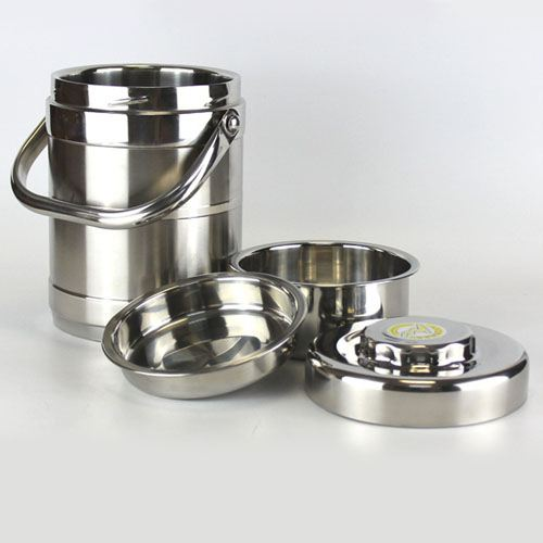 Thermos Stainless Steel Lunch Box Image 1