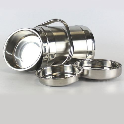 Thermos Stainless Steel Lunch Box Image 2