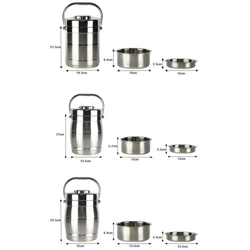 Thermos Stainless Steel Lunch Box Image 4