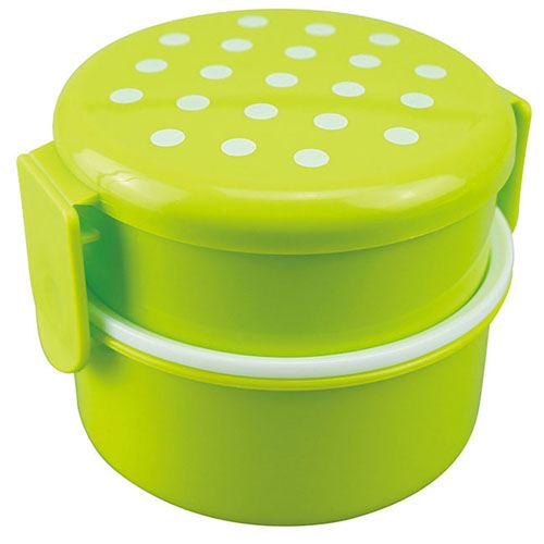 Round Microwave Kids Lunch Box