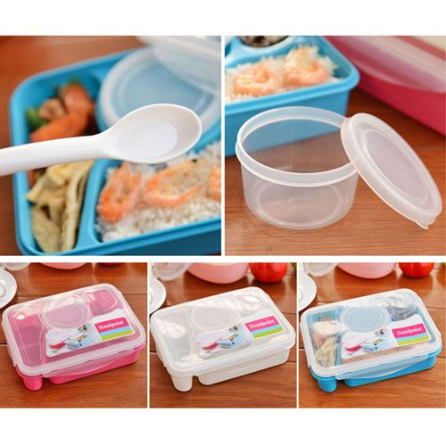 Utensil Food Lunch Storage Box Image 1