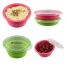 Round Silicone Collapsible Lunch Box Image 1