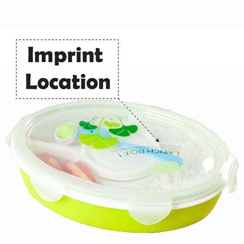 Creative Fashion Lunch Box Imprint Image
