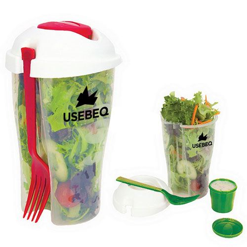 Fresh Salad On Go Cup Set