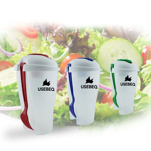 Fresh Salad On Go Cup Set Image 1