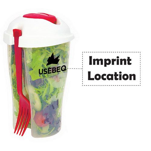 Fresh Salad On Go Cup Set Imprint Image