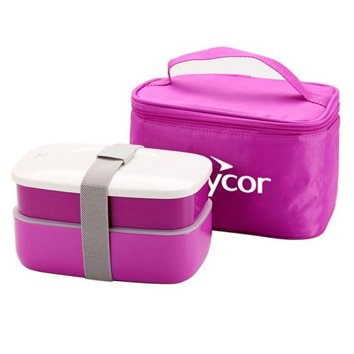 Insulated Lunch Box With Zipper Bag