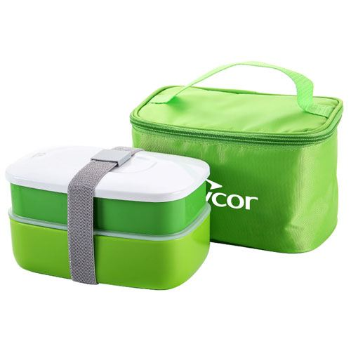 Insulated Lunch Box With Zipper Bag Image 1