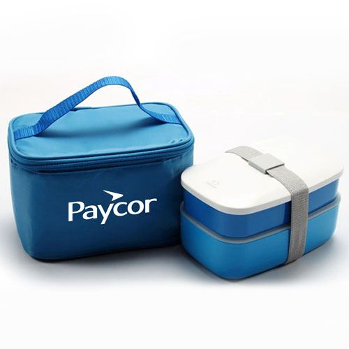 Insulated Lunch Box With Zipper Bag Image 2