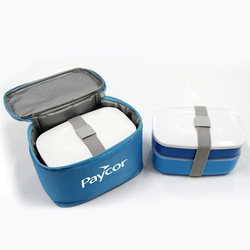 Insulated Lunch Box With Zipper Bag Image 3