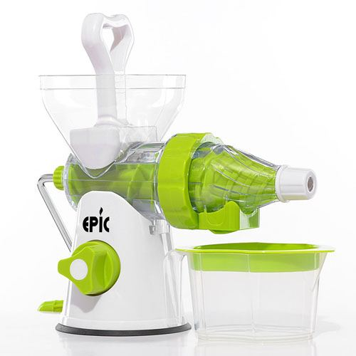 Manual Crank Fruits Vegetables Juicer