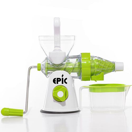 Manual Crank Fruits Vegetables Juicer Image 1