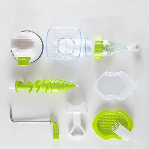 Manual Crank Fruits Vegetables Juicer Image 2