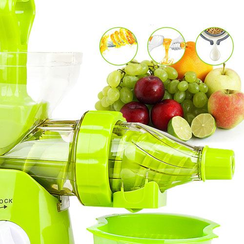 Manual Crank Fruits Vegetables Juicer Image 3