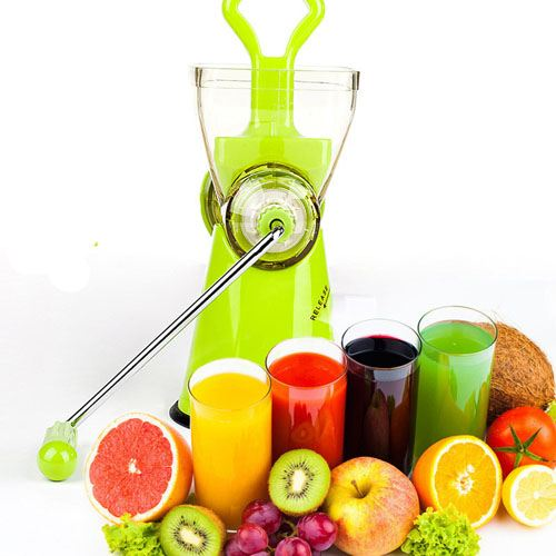 Manual Crank Fruits Vegetables Juicer Image 4