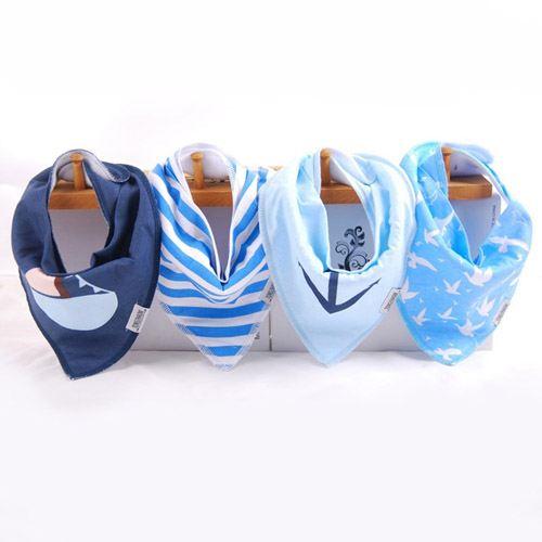 New Baby Bibs Burp Bandana Image 4