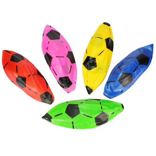 Inflatable Mixed Color Football for Kids Image 3